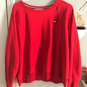 Red Tommy Hilfiger pullover